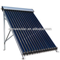 15 Tube Solar Collector with copper heat pipe