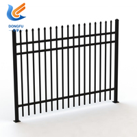 PVC Powder Coated Tubular Steel Tube Fence Panels Price
