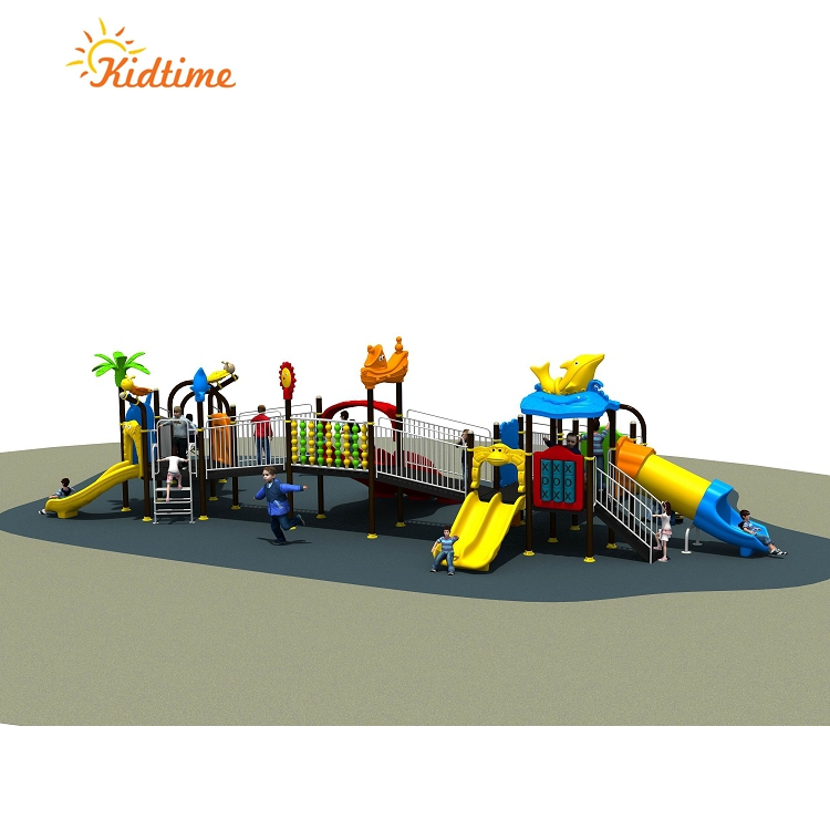 Outdoor Children Play Ground Equipment For Disabled Kids
