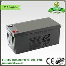 Dry cell 200ah 12 volt rechargeable battery pack for energy storage system