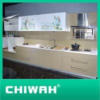 kitchen cabinets autocad high gloss white color