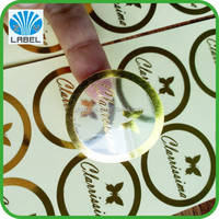 custom Size Aluminium Foil Self Adhesive Sticker Paper in Sheets