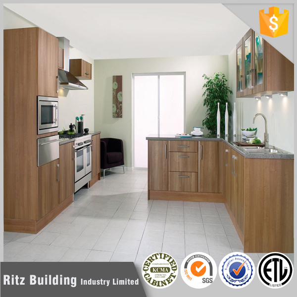 Modern Kitchen With Kitchen Cabinet Skirting Board