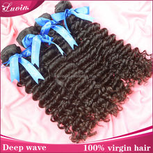 2pcs/lot virgin hair products Malaysian curly human hair