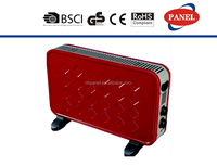 2000W convector heater with timer and turbo fan