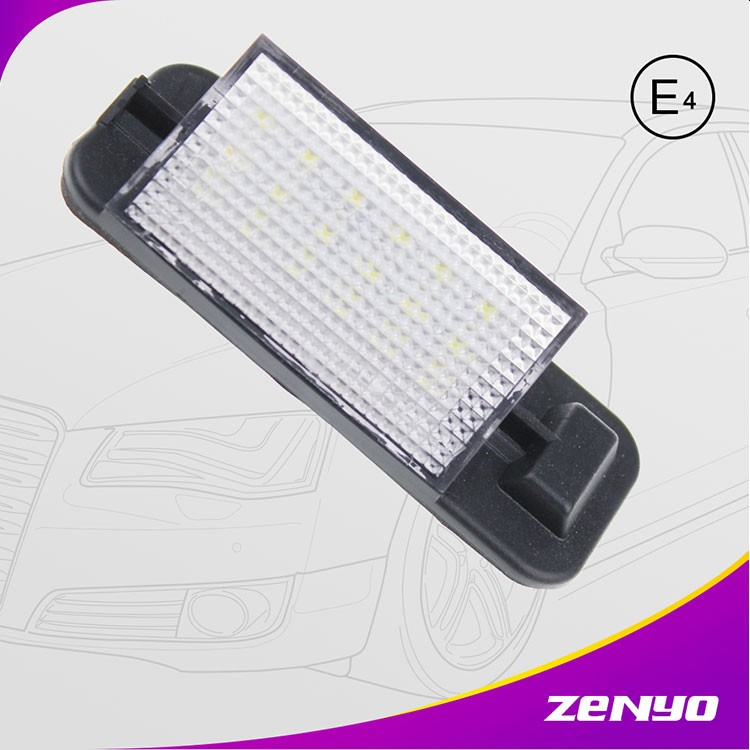 Superior quality E36 led number plate lamps FOR BMW