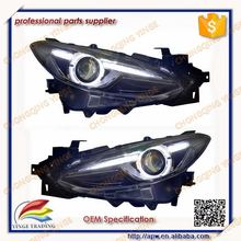 LED Headlight For MAZDA 3 Axela DRL Head Light For Axela 2014 2015 2016 Year
