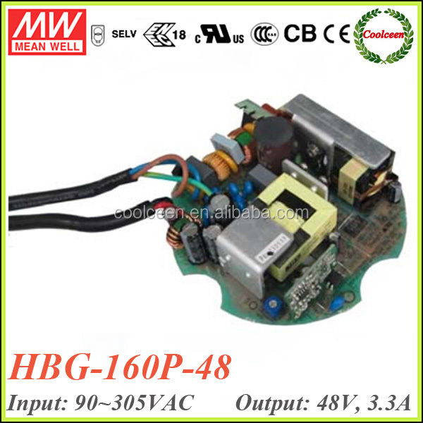 Meanwell HBG-160P-48 158.4W constant current waterproof led power supply