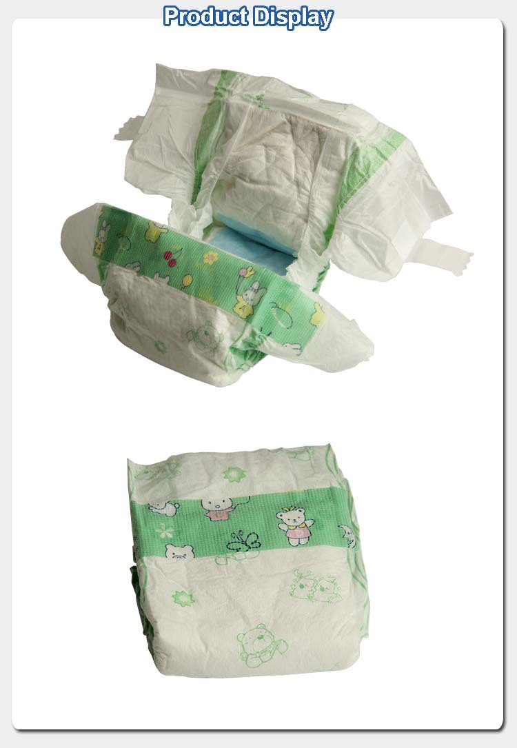 Disposable baby diapers factory in china diapers wholesale