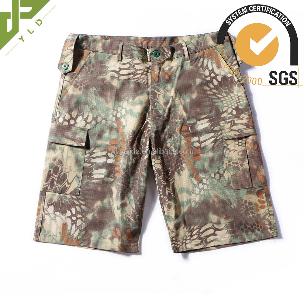 outdoor men's casual army tactical cargo shorts