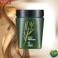 Green tea tree enssential hair mask natural organic hair mask for salon use