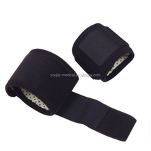 Wrist band / self heating wrist bracers