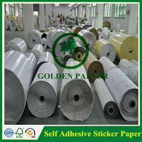 Professional self adhesive sticker paper in sheet