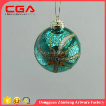 wholesale exquisite workmanship hanging glass ball Christmas tree decorations home decorations