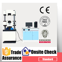 computer servo universal tensile strength of steel plate testing machine