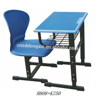 Favorable price school single chair and desk Study table Student chair for sale H808+KZ50