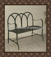 metal decorative benches