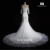 S208 2016 New Arrived Heavy Beaded Half Sleeve Wedding Dress