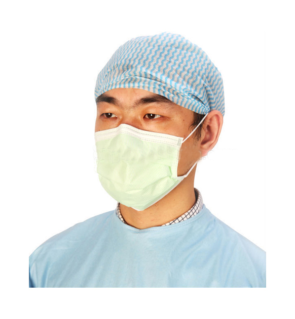 Nonwoven 3-ply face mask for doctor