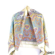 High Quality Printed Wool Own Design Shawl For Ladies