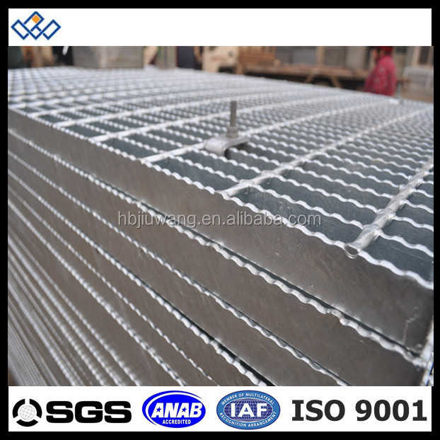 project used galvanized platform steel grating weight
