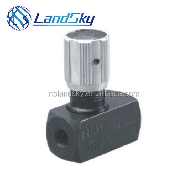 LandSky installing a Throttle check valve position on a water pump G1 1/2 M48X2 DV30 DVP30 DRV30 DRVP30 DV30S DVP30S