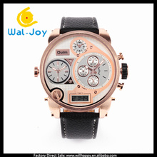 WJ-4651 big dial multifundtion vogue sport men Oulm brand watch