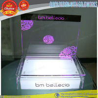 LED acrylic cosmetic display