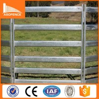 10 years manufacturer A.S.O fence wholesale silver color livestock metal fence panels