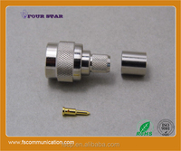 TNC Connector Male Crimp for LMR300 Cable C