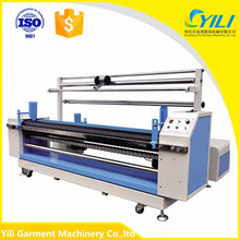woven cloth textile fabric length measuring machine rolling meter counting table