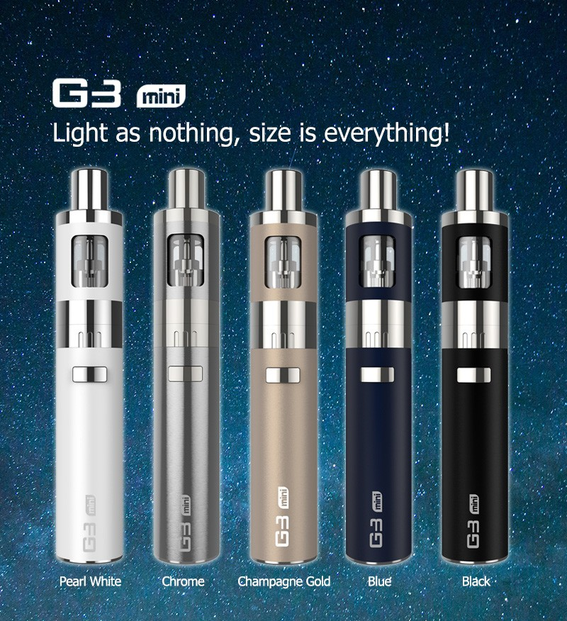 electonic cigarette premium kit MINI G3 vapor starter kit wholesale vaporizer