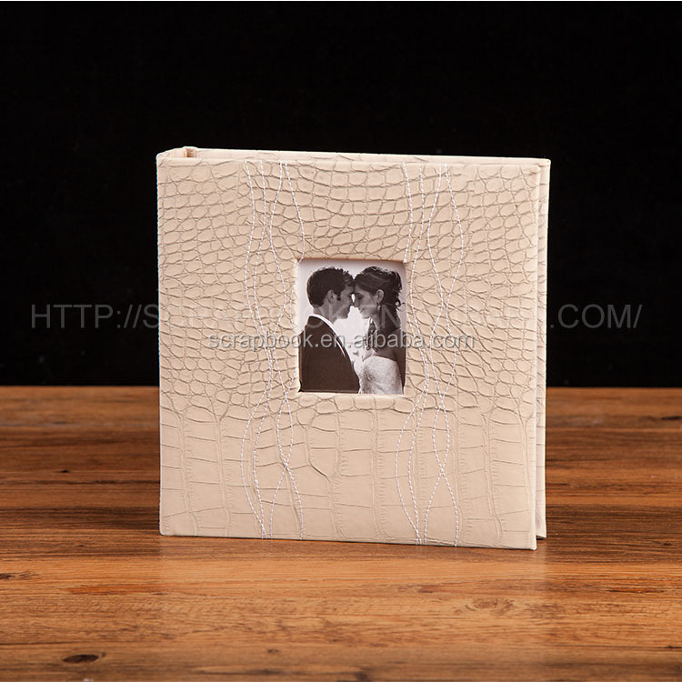 PU leather cover 10x15 photo album200 photos wedding photo album