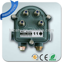 4 Way 1GHz Cable TV CATV Outdoor Tap