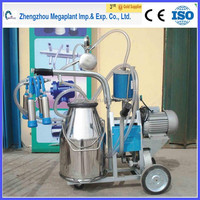 goat and cow milking machine vacuum pump