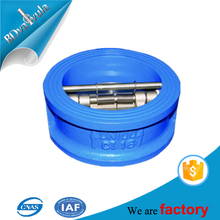 API standard wafer butterfly type buffering carbon steel soft seal PTFE DN200 check valve