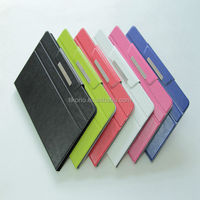 voltage universal flip pu leather cover for all 10 inch laptop
