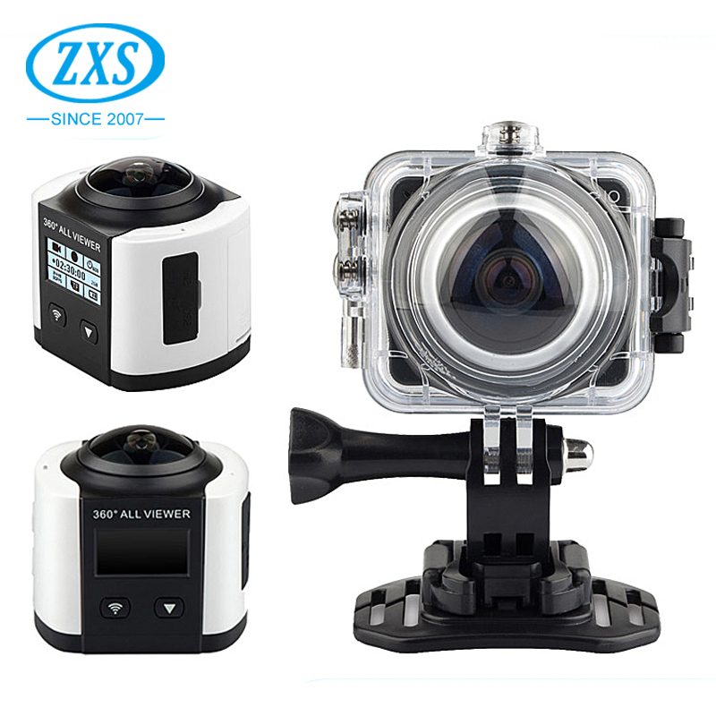 360 degree 4K HD 1080P Recorder Camera Video Helmet Sports Action Camera 360C