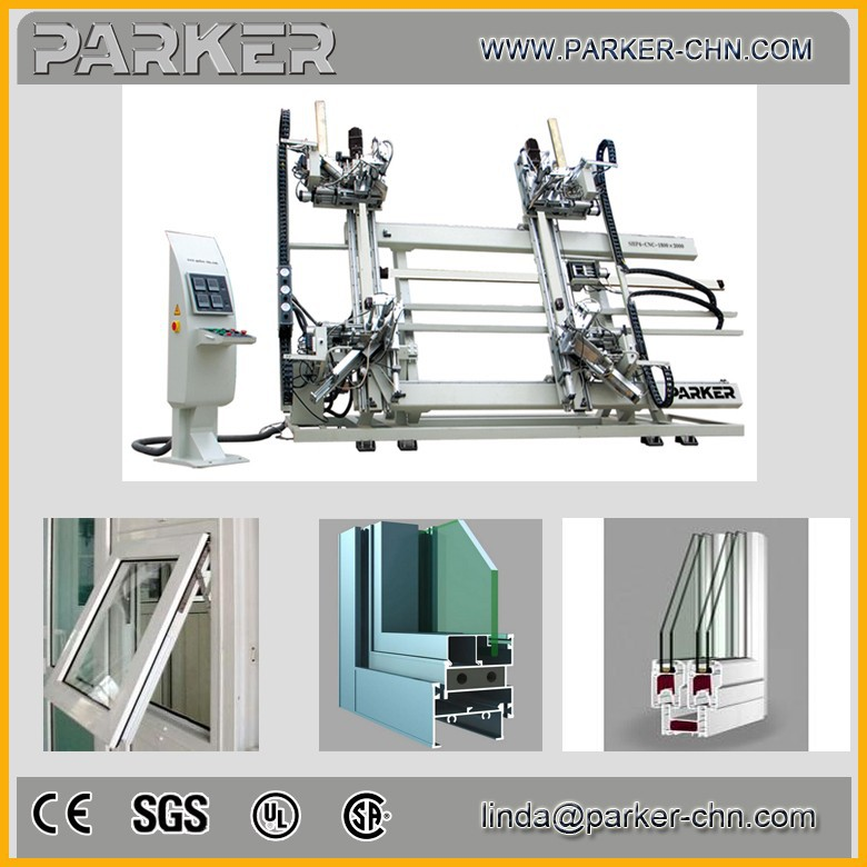 Machines de fenetre et porte en pvc upvc window welding for Porte en pvc