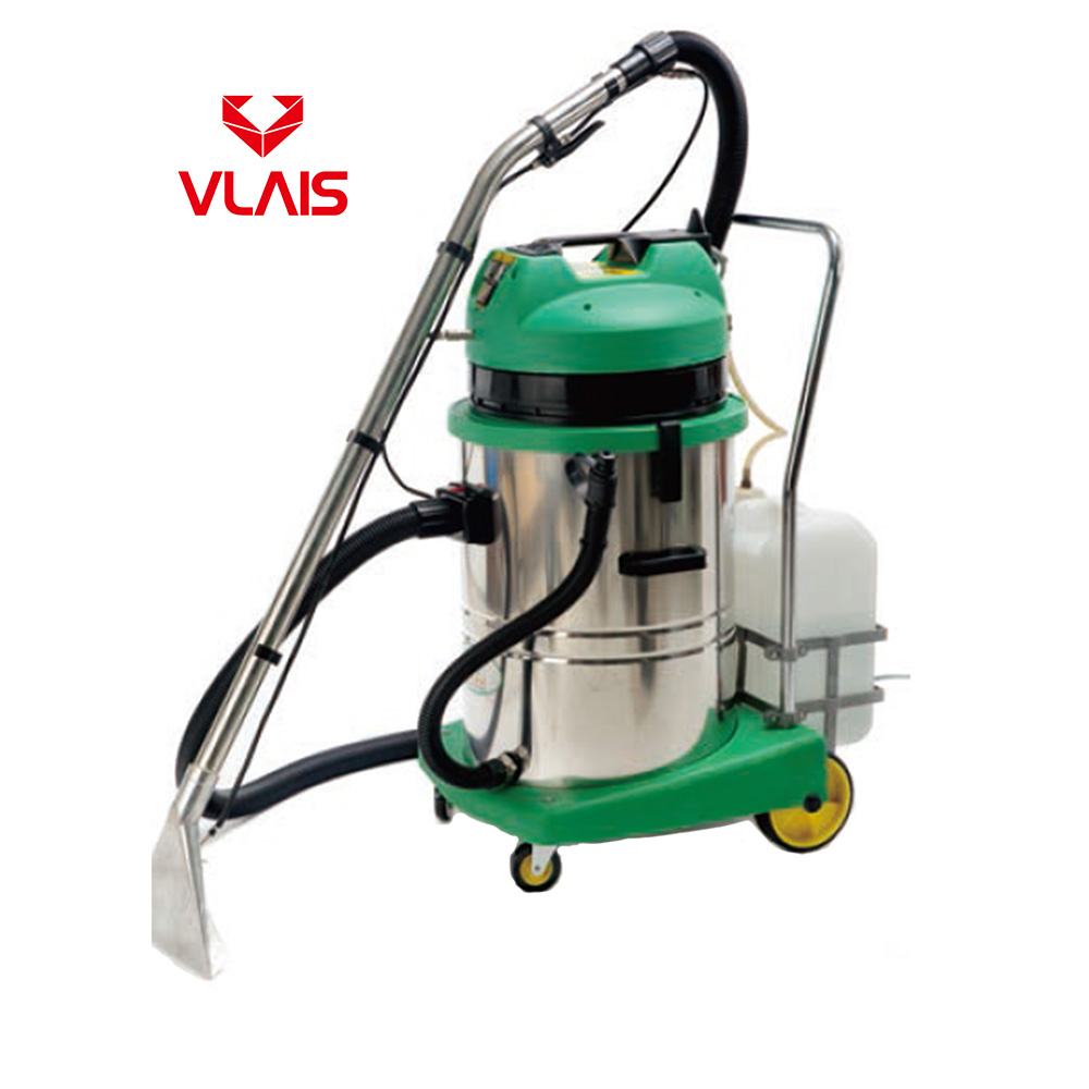 60L Carpet Cleaning Machine Wet and Dry Vacuum Extractor Strong Suction Stainless Steel Tank Carpet Cleaner