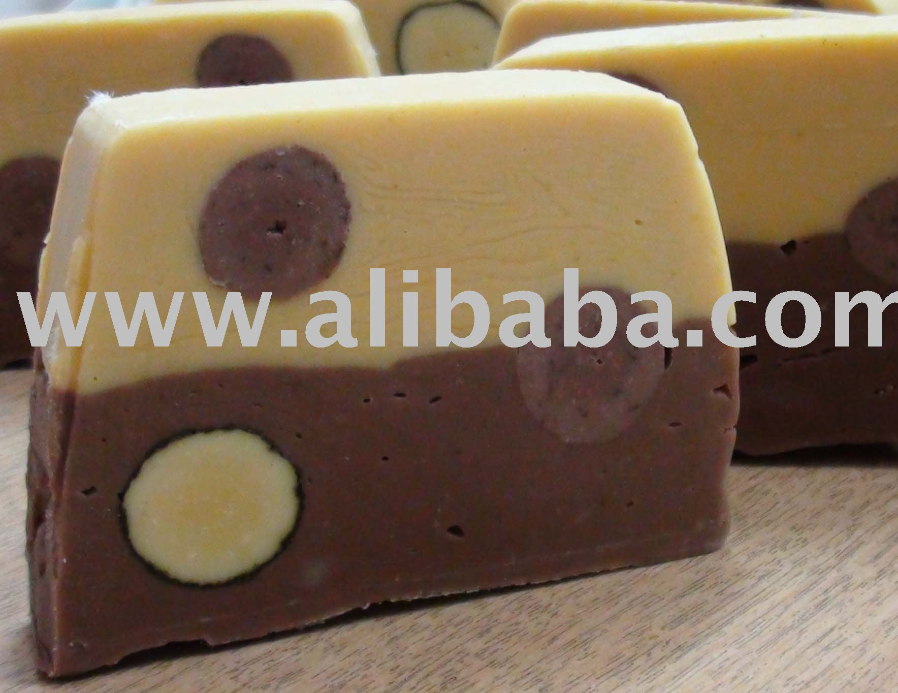 Banana and cocoa soap