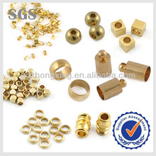 Wholesale Jewelry Fittings Various Crimp Tube End Beads In Gold