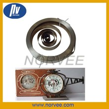 SUS301 clock mainsprings / Spiral Clock spring
