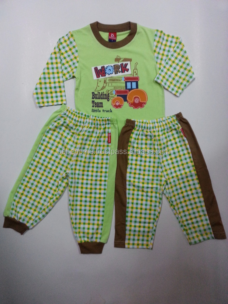 Boy's pajamas set, Kid's pajamas clothing