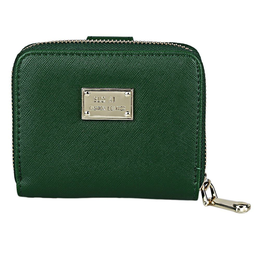 Letter Zipper Nylon Coin Card Purses Credit Card Holders Purse Two Fold Short Wallet Female Purse Mini Clutch Thin Wallets