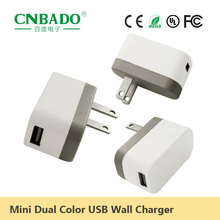 A charger with small design 2.1A single usb CE wall charger RoHS battery charger for mobile phone