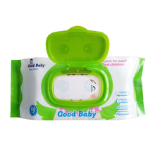 OEM Custom Soft Disposable Baby Hand Mouth Cleaning Wet Wipe 80pcs