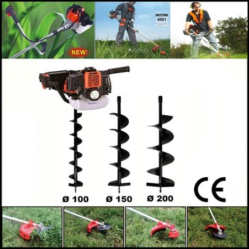 Professional earth auger 52cc