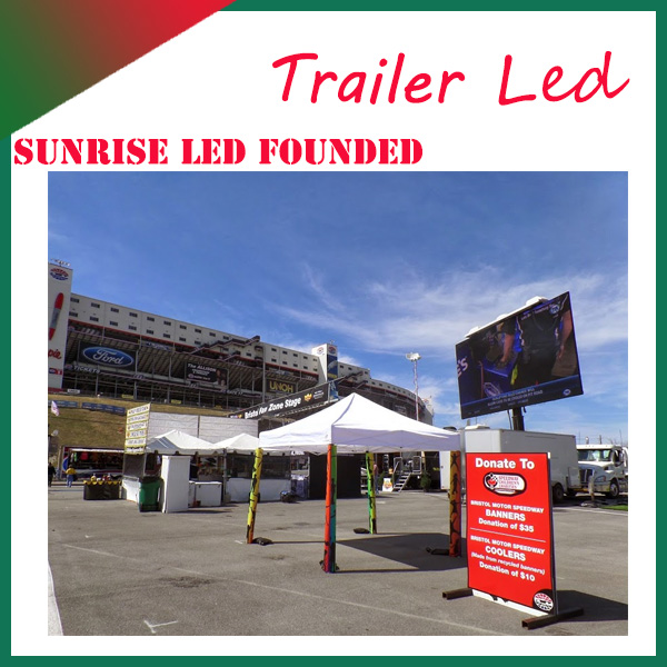 JAC Publicity truck led full color display with hub interface for live broadcast, audio advertising, heavy video