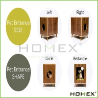 OEM colorful pet cage house for cats Homex_BSCI